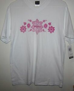 Womens Tee Shirt 100% cotton One Size White Comfortable Joe Boxer NWT $24.00