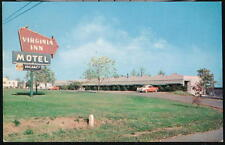 RUSTBURG VA Virginia Inn Motel & Restaurant Rt 29 & 24 Vintage Postcard Old PC