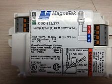 10 MAGNETEK CBC-132/277 ONE LAMP 32W/4PIN FLUORESCENT LAMP BALLASTS 277 VOLTS