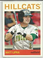 Matt Lipka Atlanta Braves 2013 Topps Heritage Minor League