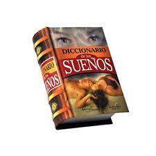 new miniature hardcover book Diccionario de los Suenos color pages illustrated