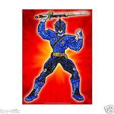 KSG PIN-IT SEQUIN ART - SUPER SAMURAI POWER RANGER BLUE - NEW IN SEALED BOX!
