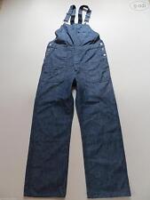 L32 Indigo -/dark-washed Herren-Jeans mit hoher Bundhöhe