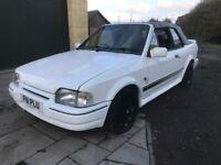 Mk4 escort xr3i cabriolet, rs turbo looks, zetec 16v conversion may swap