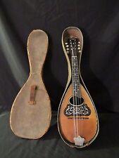 Washburn Model 1915 Style 1650 Mandolin circa: 1890's-1920's w/Original case