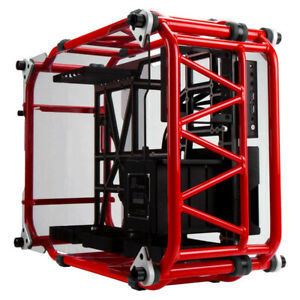 IN WIN D-FRAME LIMITED EDITION OPEN FRAME CHASSIS - RED