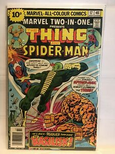 Marvel Two-In-One #17 (Pence) F/VF 1st Print Marvel Comics