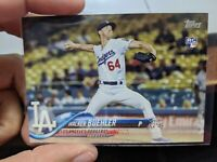 2018 Topps Walker Buehler (8x) Card Lot Holiday Insert RC Rookie LA Dodgers