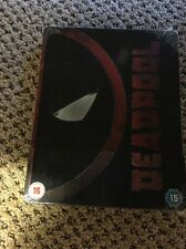 DEADPOOL Blu-ray Steelbook - Embossed and Spot Gloss - UK Release - Brand New
