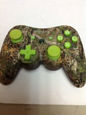 Limited Edition LIME GREEN Realtree Camo PS3 Wireless Controller PowerA