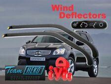 NISSAN QASHQAI  I +2  02/2007 - 2014 Wind deflectors 2.pc HEKO 24256 FRONT DOORS