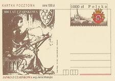 Poland prepaid postcard (Cp 1026) Czarnkow