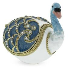 The Swan Royal Russian Jewelry Trinket Box