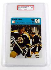 1977-79 Sportscaster Phil & Tony Esposito #03-19 Japan PSA 9 POP 4 Only 1 Higher