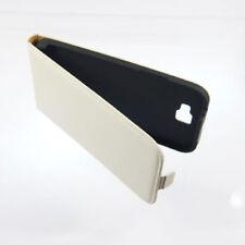 Premium Flip Case für Samsung N7100 Note 2 Schutz Handy Tascher Hülle - Weiss