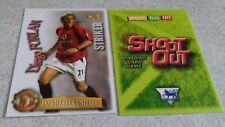SHOOT OUT CARD 2003/04 (03/04) - Green Back- Manchester United - Diego Forlan