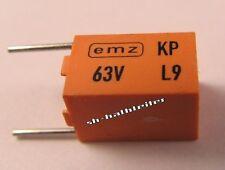 10 pezzi - 530pf 63v ± 1% Siemens KP emz CONDENSATORE-b33531a5531f