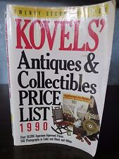 Kovels' Antiques and Collectables Price List 1990 22nd Edition Paperback Book