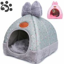 Dog Cat Beds for Small Medium Pet for Dog Sofa Warming House Winter Kennel