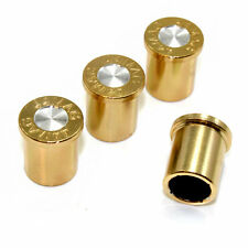 44 Mag Bullet Tire/Wheel Air Stem Valve Caps Set for car-truck-hot rod-bike