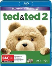 Ted / Ted 2 (Blu-ray, 2015, 2-Disc Set)