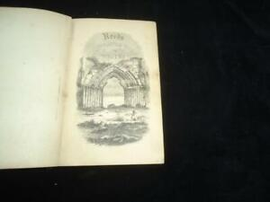 1851 Reed's Illustrated Guide to Whitby & Visitor's Handbook local history RARE
