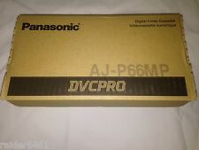 NEW Panasonic DVCPRO AJ-P66MP 2 Boxes of 9 Total 18 Tapes