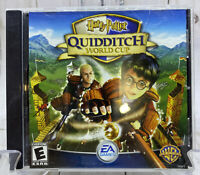 Harry Potter Quidditch World Cup PC Computer Game 2003 EA Games WB Windows Mac