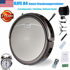 ILIFE A4S Smart Vacuum Cleaner Robot Sweeping Cleaning Machine+Remote 1000Pa US