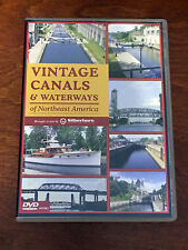 Vintage Canals & Waterways of Northeast America DVD maritime boat boating NEW!