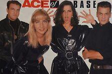 ACE OF BASE - A3 Poster (ca. 42 x 28 cm) - Clippings Fan Sammlung NEU