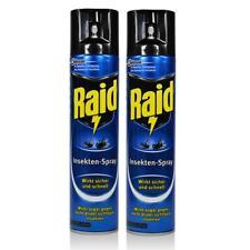 2x Raid Insekten-Spray 400 ml - Wirkt sicher und schnell