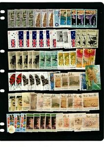 1990'S AUSTRALIA VARIOUS UNCHECKED USED STAMPS FROM COLLECTION BK1