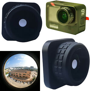HD Fisheye Filter Replace For GoPro9 Action Camera Wide-angle Lens Camera Parts