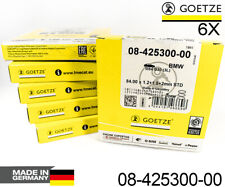 6X BMW Piston Rings M54 B25 M54 B30 306 GOETZE 08-425300-00 E46 325i 330 E60 530