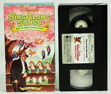 Disneys Sing Along Songs Zip-A-Dee_Doo_Dah Volume Two VHS Video
