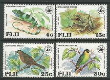 STAMPS-FIJI. 1979. Endangered Wildlife Set. SG: 654/67. Mint Never Hinged.