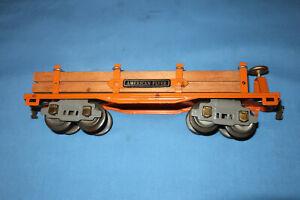 American Flyer Pre-war O Gauge #3216 Log/Lumber Car