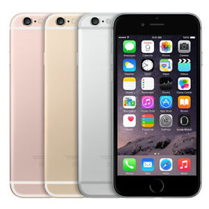 APPLE iPHONE 6 16GB / 32GB / 64GB / 128GB - Unlocked - Smartphone Mobile Phone