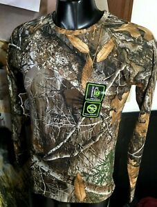 new REALTREE EDGE Scent Control CAMO Insect Repellent LS Performance T SHIRT 2XL