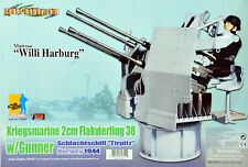 Kriegsmarine 2cm Flakvierling Gunner 70651 RARE Dragon Action Figure WWII German