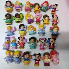 Random 5pcs Fisher Price Little People Disney Princess Mickey Minnie Mouse