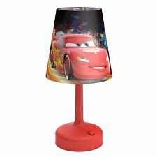 DISNEY CARS PORTABLE TABLE / DESK LAMP KIDS BEDROOM 100% OFFICIAL NEW