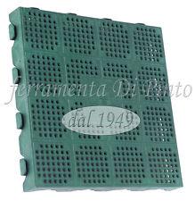 6 PIASTRELLA PVC 40X40 PAVIMENTO COMPONIBILE MATTONELLA ESTRERNO GIARDINO PISCIN