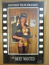 "vintage "" The Most wanted"" Poster fantasy film frames 1990 4603"
