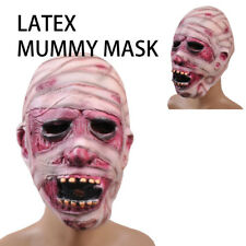Halloween Mask Adult The Dreaded Zombie Horror Scary Monster Mummy Mask Prop
