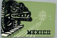 Serpiente Emplumada FELT Mexican Vintage INDIAN MARKET Ad REYNOSA Tamaulipas