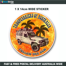 Troopcarriers of Australia 70 Series Official Group Sticker 14cm #TOA014