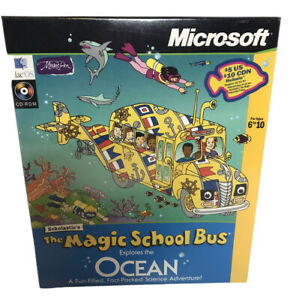 Microsoft Scholastic The Magic School Bus Explores The Ocean Great Learning Set