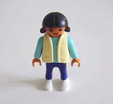 PLAYMOBIL (3156) ENFANT MODERNE - Fille Pull Bleu & Veste Pantalon Bleu